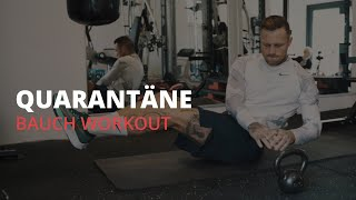 Kontra K - Quarantäne Home Workout (Bauch-Workout) // #StayHome and Workout #WithMe