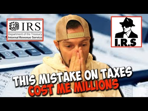 THIS MISTAKE ON TAXES COST ME MILLIONS | Chris Record Vlogs 86