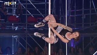 Vrije act Christina - Show 4 - CELEBRITY POLE DANCING