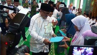 Tahun Baru Islam, Gubernur Banten Rano Karno Beri Santunan Ke Anak Yatim