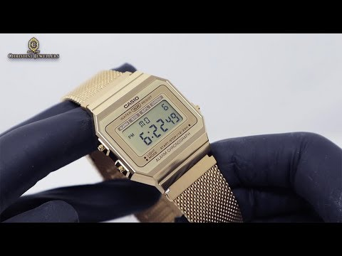 Unboxing 2019 Casio 1980 Retro Milanese Band A700WM