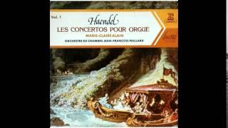 Handel - Concertos pour Orgue, Marie-Claire Alain