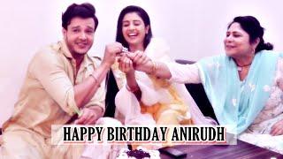 Anirudh Dave& 39 s birthday celebrations with co stars Paridhi Sharma & Sandhya Shungloo EXCLUSIVE