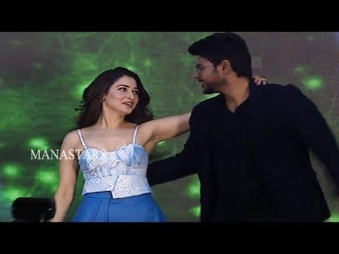 Sundeep Kishan and Tamanna Superb Dance Performance @ Next Enti Movie Pre Release Event   Manastars