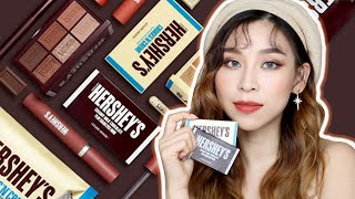 New Hershey's Makeup Collection ? Yay or Nay?| TINA TRIES IT