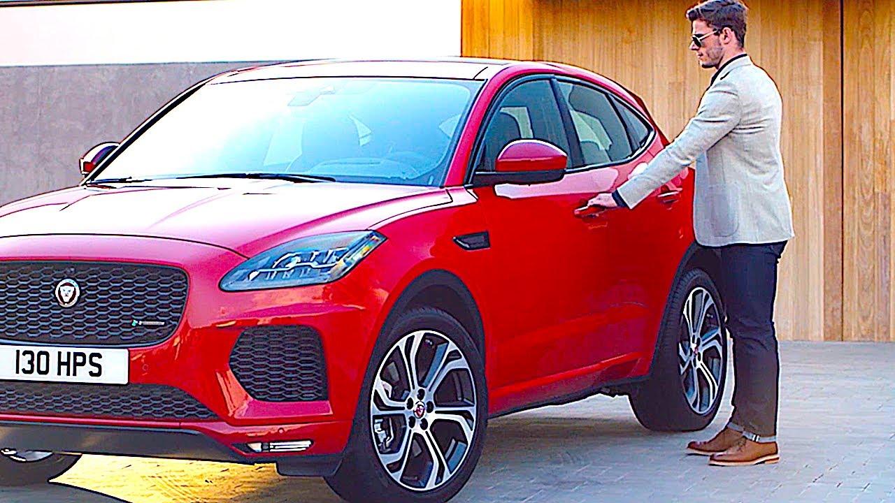 jaguar e pace interior review 10 best options jaguar suv new carjam tv hd youtube. Black Bedroom Furniture Sets. Home Design Ideas