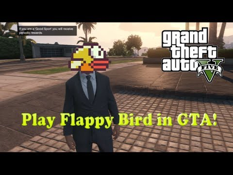 How to Play Flappy Bird in GTA Online