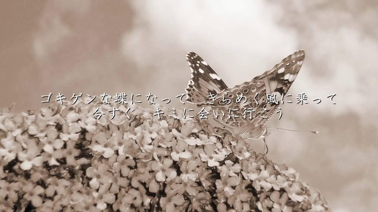 ゴキゲン な 蝶 に なっ て