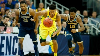 Sweet 16: Oregon Survives Against Michigan