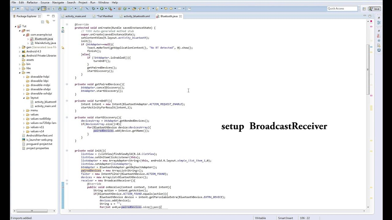 How to part 5 (Android) - Arduino android bluetooth real time graph