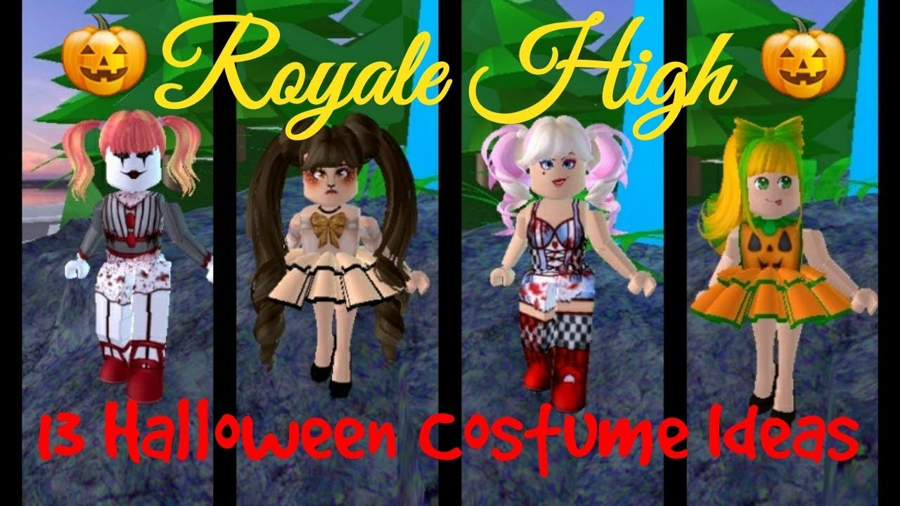13 Royale High Halloween Costume Ideas Youtube