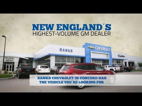 NH Chevy Dealer Banks Chevrolet Cadillac Buick GMC
