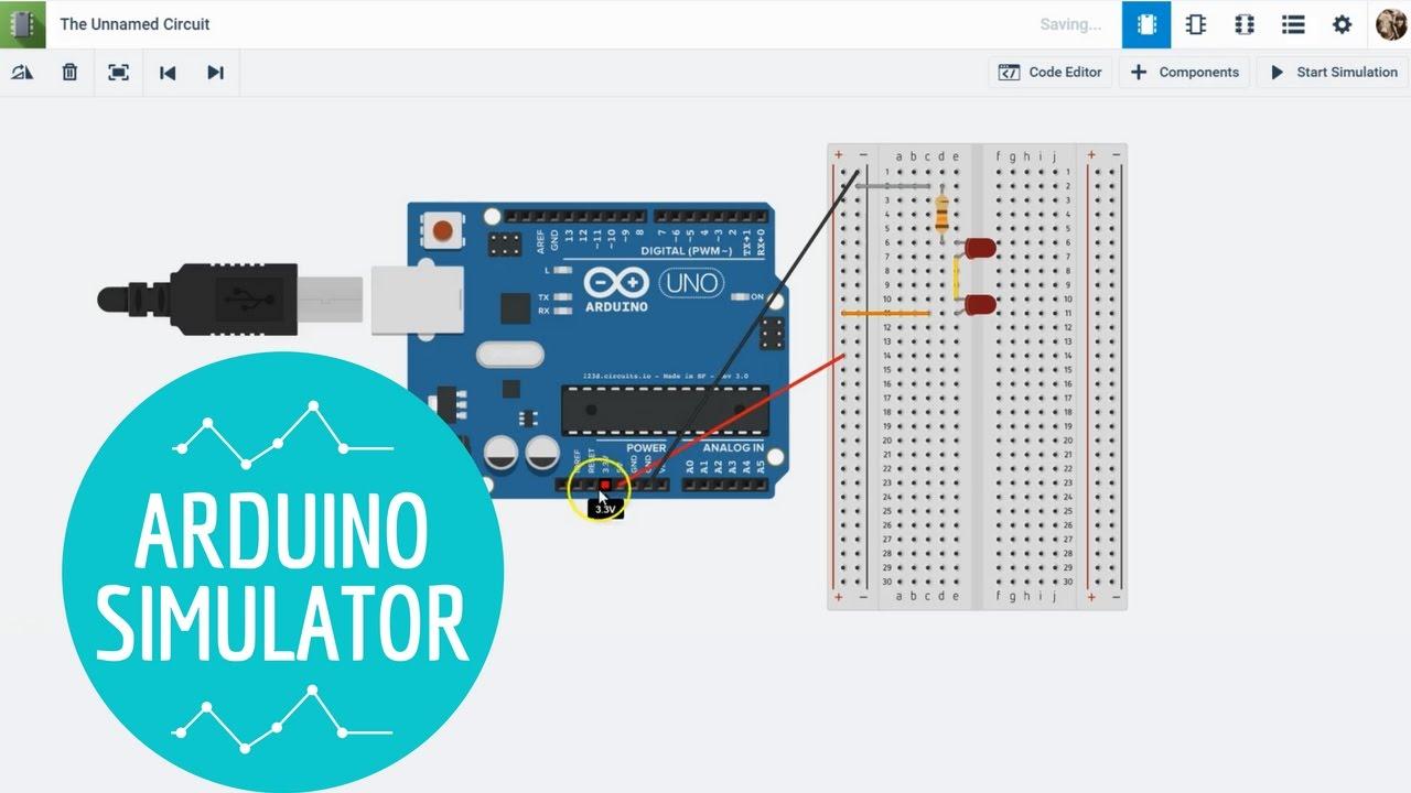 Tinkercad Arduino Mega