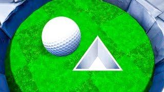 ЭТО НЕВОЗМОЖНО ПРОЙТИ! КАК НАМ УДАЛОСЬ ЗАБИТЬ В САМУЮ СЛОЖНУЮ ЛУНКУ В ГОЛЬФ ИТ (Golf It)