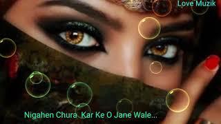 Nigahen Chura Kar Ke O Jane Wale High Quality Sher Ali Mehr Ali  Gazal Edit By Love Muzik