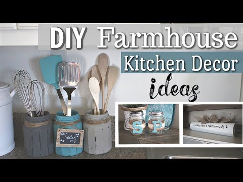 DIY Farmhouse Kitchen Decor | DIY Home Decor 2019 | Krafts by Katelyn