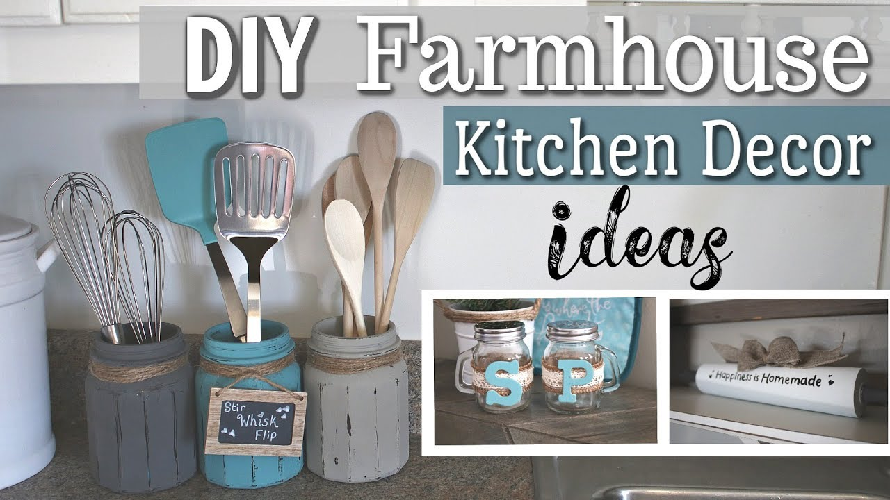 DIY Farmhouse Kitchen Decor  DIY Home Decor 8  Krafts by Katelyn
