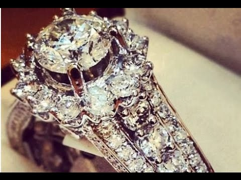 Big Wedding Rings For Women YouTube
