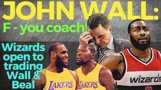 John Wall: Ite trade na pagkatapos murahin ang coach. Lakers, posibleng destinasyon.