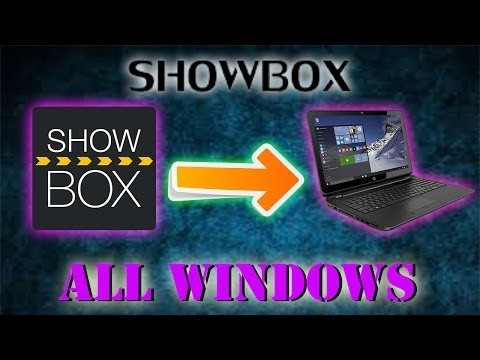showbox for pc windows