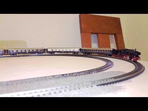 Fleischmann 7160 DB + Kato K23215-2 set de 8 vagones Orient Express