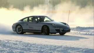 Porsche brings extreme driving to Inner Mongolia at Snow Force 2012