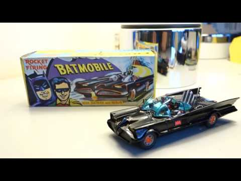 Vintage 1966 Corgi Batmobile - No.267 - Complete - Unused -
