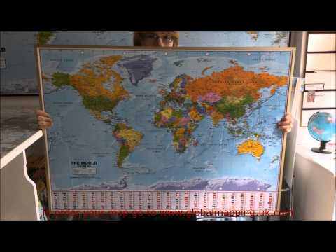 World Maps from Global Mapping