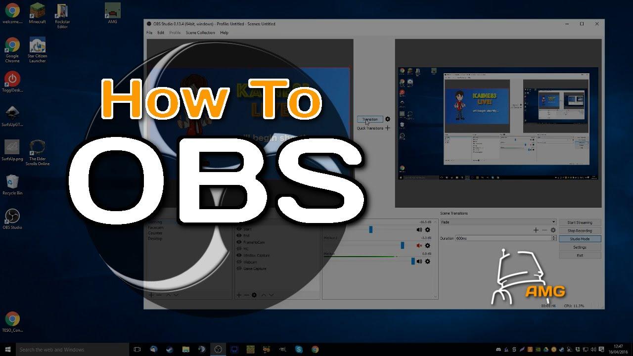 Obs Tutorials Media Source Adding Video Audio Files Youtube