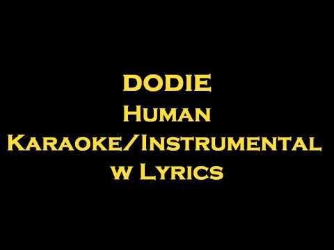 dodie - Human  KaraokeInstrumental w