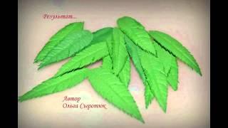 Как создать ягоды рябинки из Фоамирана?