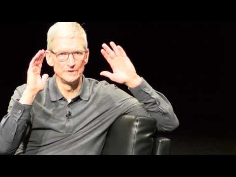 Tim Cook answers student questions