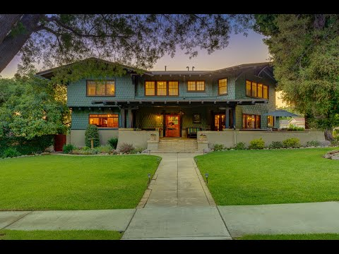 """The Berns Team Presents 173 Highland Place in Monrovia, CA-Historical Craftsman """"The Everest House"""""""
