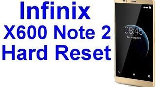 Infinix X600 Note 2 Pro Hard Reset