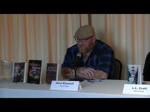 Rhode Island Author Expo 2016 Horror Writers Panel