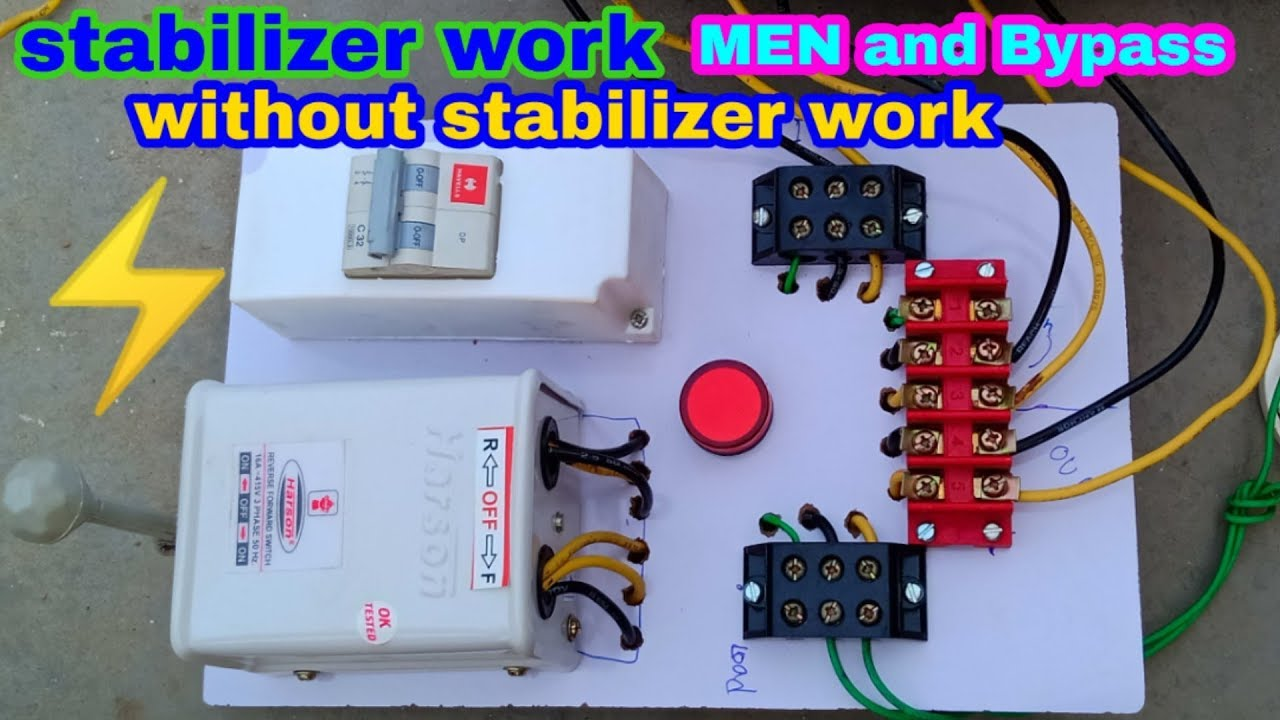 How to make electric man board one side stabilizer power ...