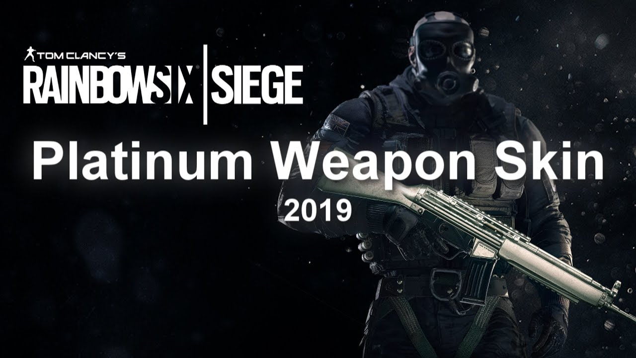 Platinum Weapon Skin - R6SKIN