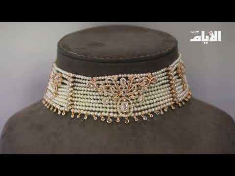 «لا?لي? ا?ل محمود» تعرض مجوهرات مرصعة  باللو?لو? النادر في معرض الجواهر  2017  - نشر قبل 17 دقيقة