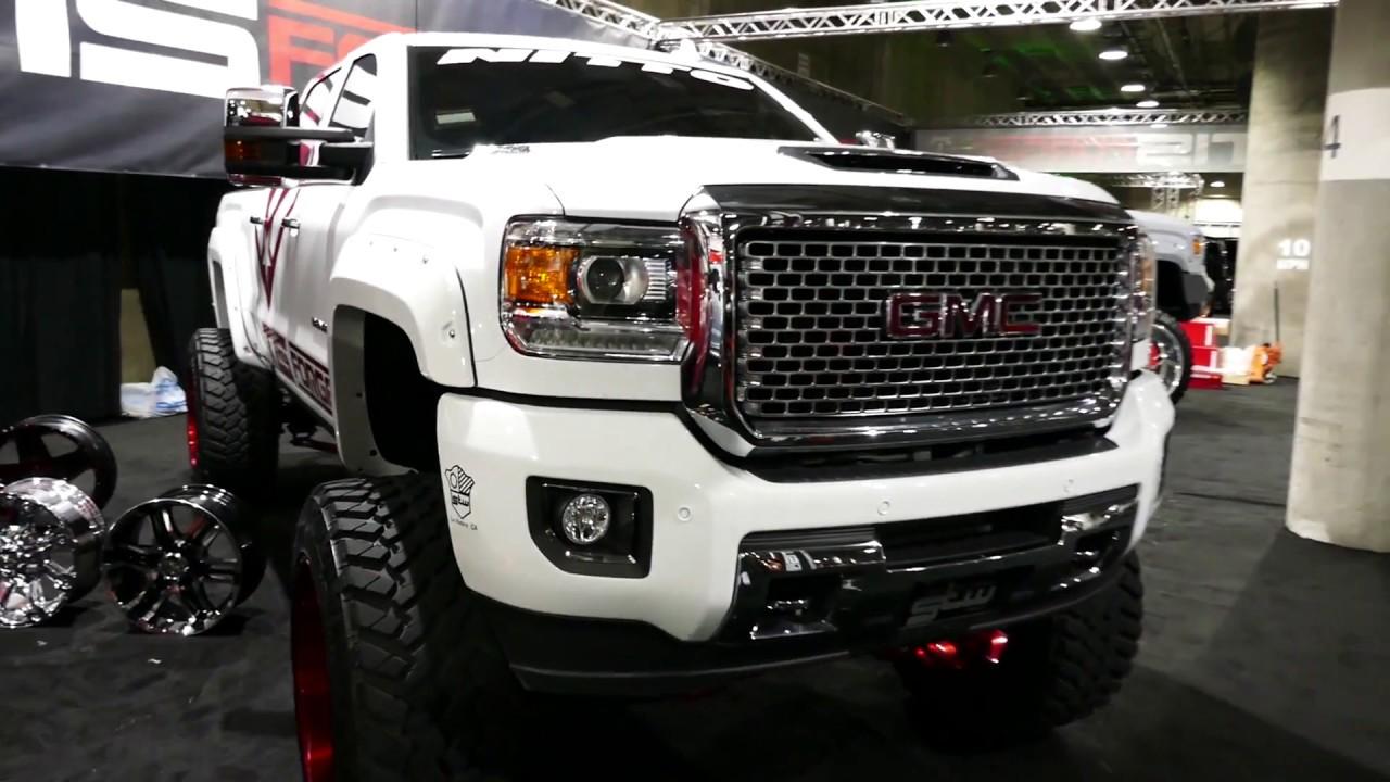 Custom GMC Sierra Denali HD Custom Truck - TIS Forged ...