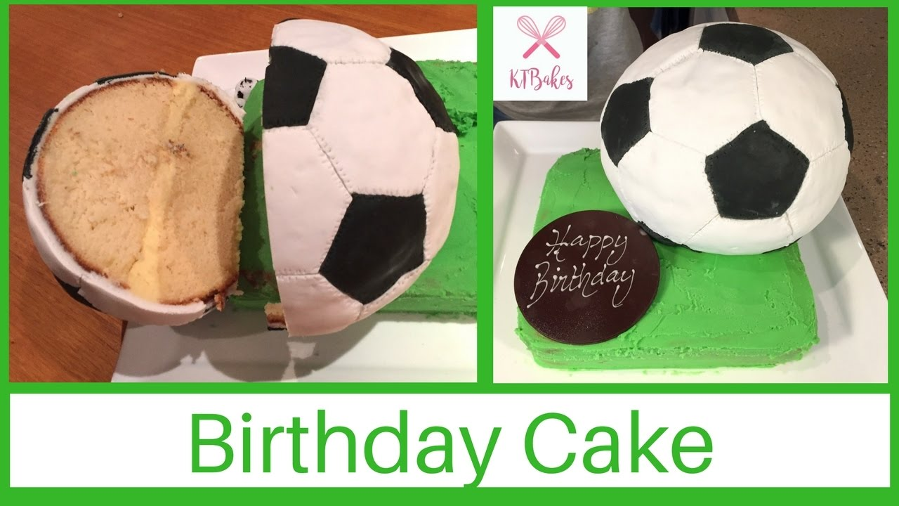 How To Make A Soccer Ball Cake Football Cake Fuball Torte Kids