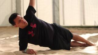 Core Stability - Dynamic Lateral Plank Exercise