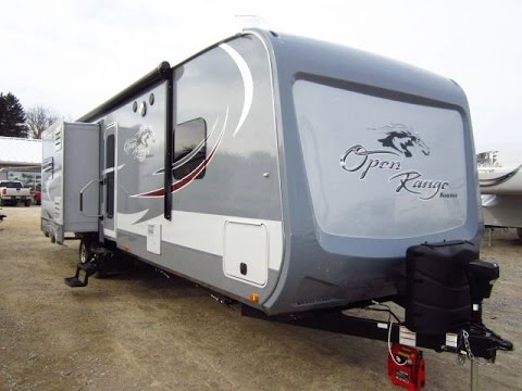 HaylettRV.com - 2015 Roamer 310BHS Bunkhouse Travel Trailer by Open Range RV