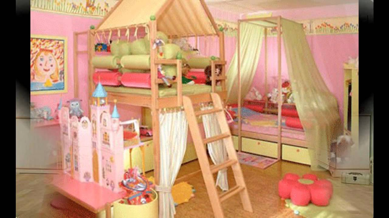 Little Girls Room Part - 30: Cute Little Girls Room Decorating Ideas - YouTube