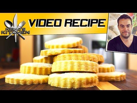 Shortbread Biscuits | Nicko's Kitchen