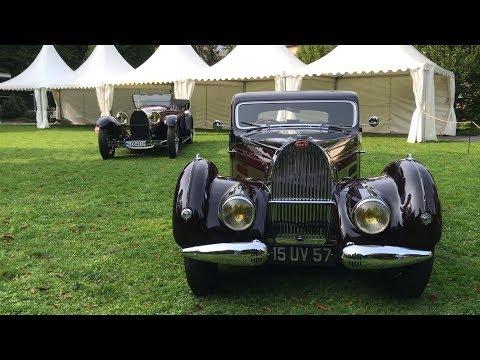 Le prototype original de la Bugatti Royale a Mondorf ! :O