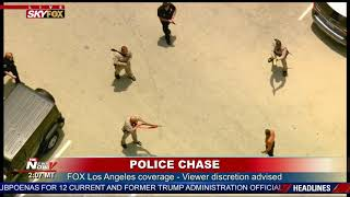 TAZED AND DOWN: Suspect COLLAPSES After Police Chase