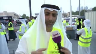 حملة رمضان أمان تقدم وجبات إفطار لمستخدمي شوارع الإمارات