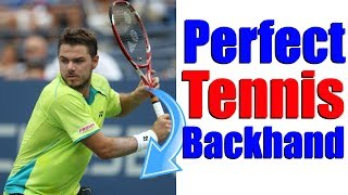 Video How To Hit The Perfect Tennis One Handed Backhand In 3 Simple Steps download MP3, 3GP, MP4, WEBM, AVI, FLV Juni 2018