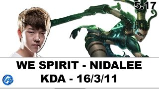 WE Spirit - Nidalee Jungle - Kr SoloQ