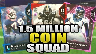 1.5 MILLION SQUAD | DO I SUCK AT MADDEN 19? Madden 19 Ultimate Team Squad Builder